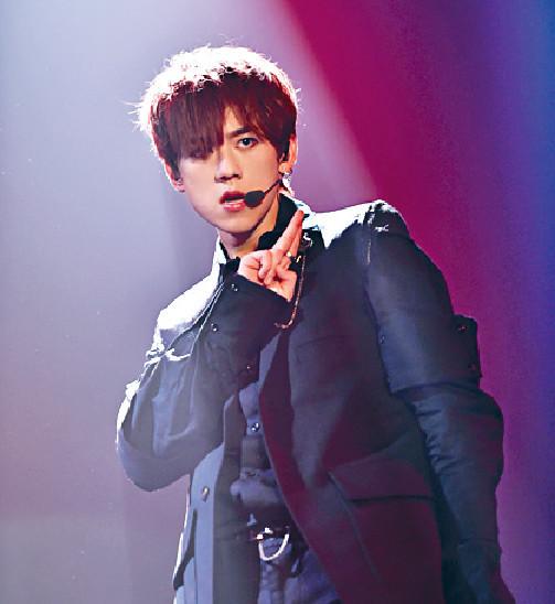 ■姜濤剛完成3場演唱會,反應都唔錯。