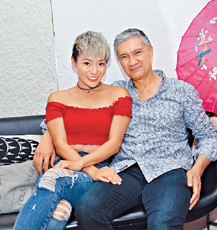 ■陳鈺芸完成手頭工作,便與導演男友司徒永華在美國結婚。
