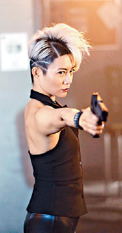 ■陳鈺芸表示在差館打警察那場最難忘。