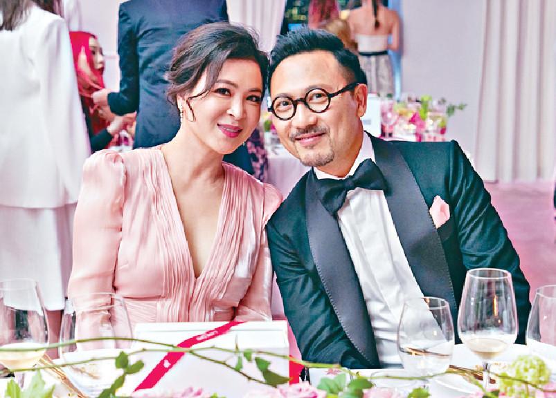 ■蘇玉華和男友潘燦良,予人「老夫老妻feel」。