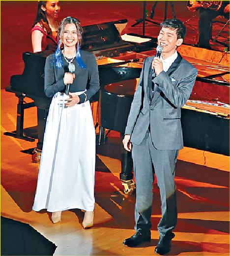 ■林奕匡和黃妍跟交響樂團合作特別緊張。