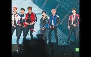 EXO香港騷勁歌熱舞  SUHO與KAI晒肌引粉絲狂叫