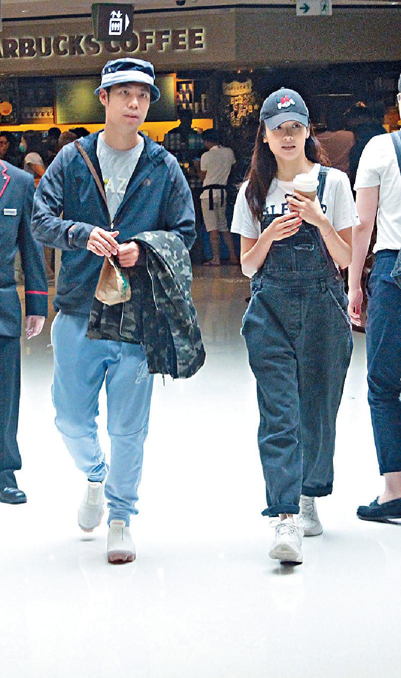 ■Ali和陳炳銓拍拖近5年,因二人事業正起飛未打算結婚。
