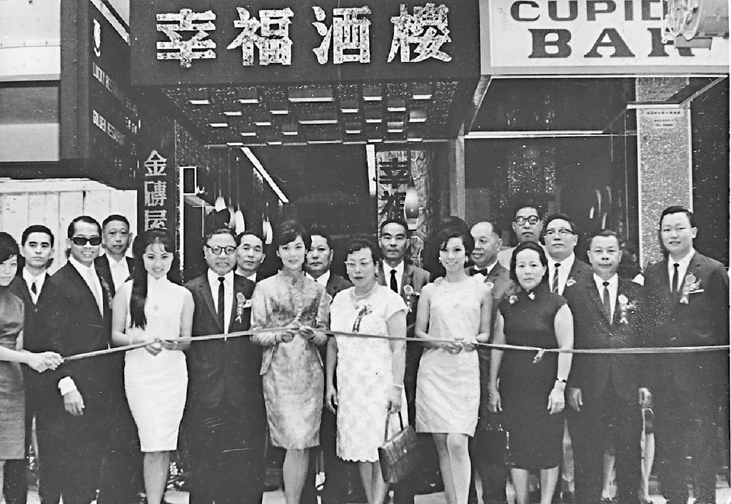 ■1967年,夏萍出席開幕活動。