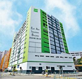 屯門東亞紗廠工業大廈申請改裝,包括提供943間酒店客房。