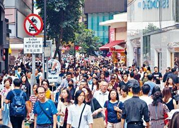 香港增長人口超過九成來自移民。