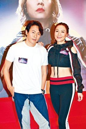田蕊妮與曹永廉寄望新劇可以娛樂觀眾。
