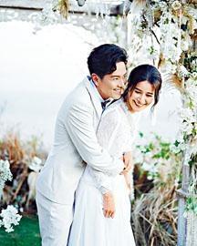 阿蕭感謝老婆翠如全力支持,希望忙完工作後補償對方一個蜜月旅行。