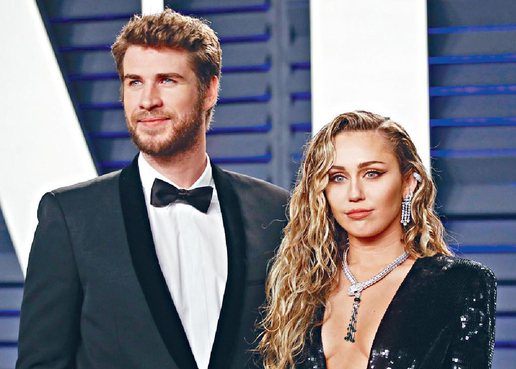 ■里安與Miley幾番離合,最終仍要分開。資料圖片