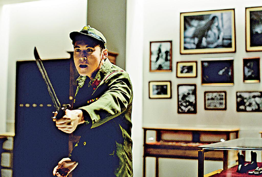 ■電影以學校流傳的鬼故改編,關鍵是把二戰時期的日本軍刀。