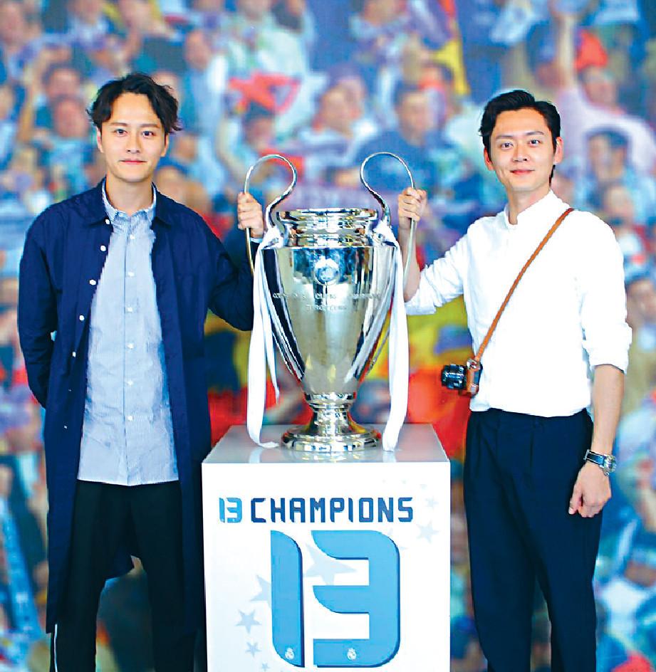 ■張振朗第一次同Brian去皇家馬德里,仲去咗皇馬球場參觀。