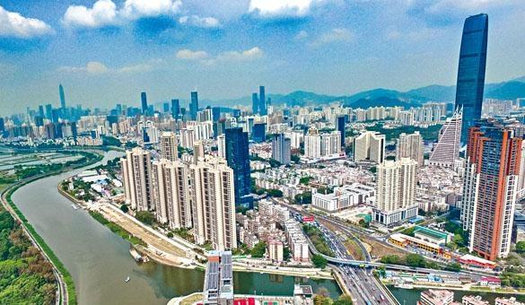 ■深圳計畫要在二○二五年前成為現代化國際化創新型城市。