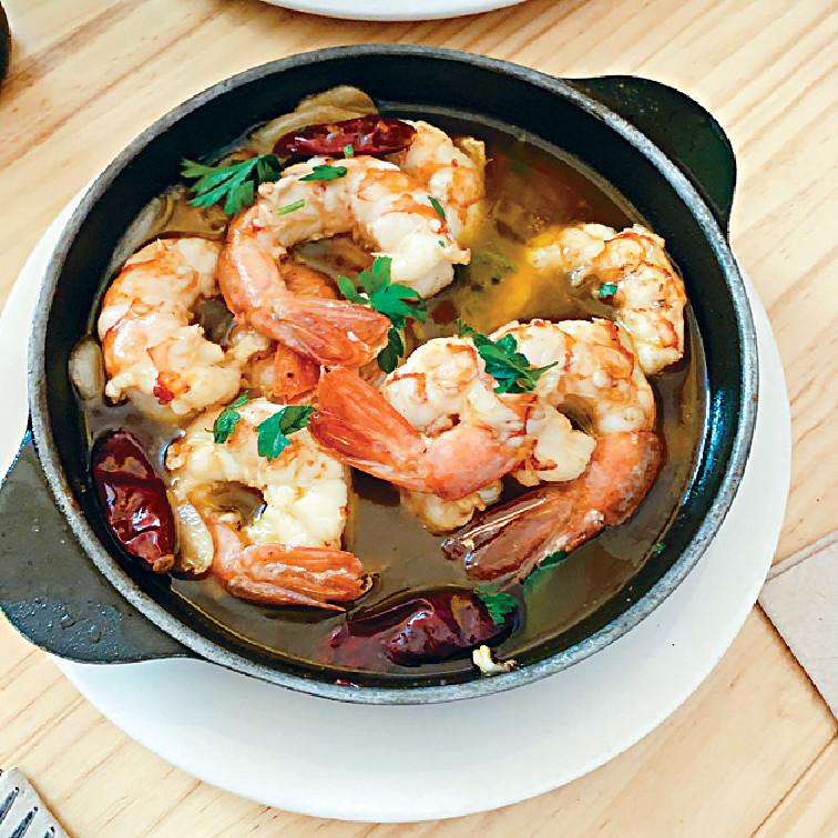 ■西班牙的海鮮飯好足料,味道又香濃。