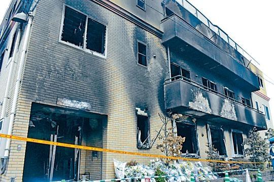 京都動畫上月被兇徒縱火,做成35人身亡及多人重傷的慘劇。