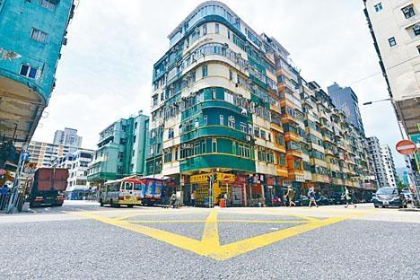 譚公道65至99號舊樓,獲財團出價每方呎約1.7萬收購,目前已收逾七成業權。