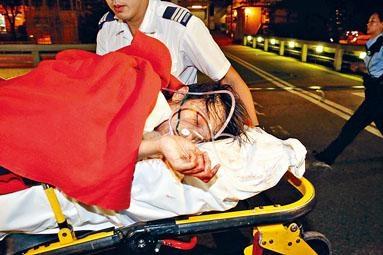 《信報》離職女記者重傷送院。