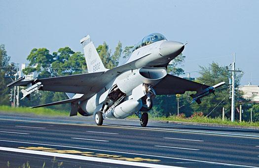 美國國務院批准向台灣出售新款F-16V戰機。