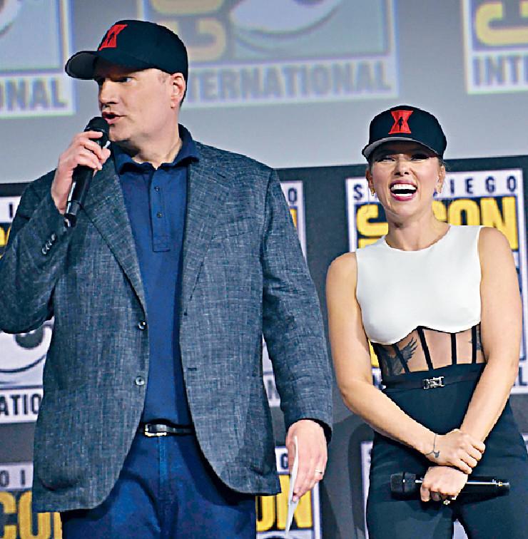 ■Kevin Feige(左)不再為《蜘蛛俠》電影任監製。