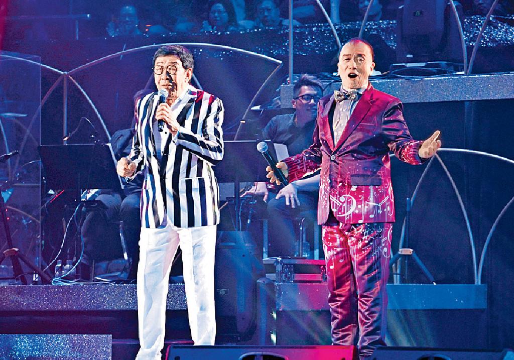 ■去年開演唱會時,Joe哥邀得修哥做嘉賓。