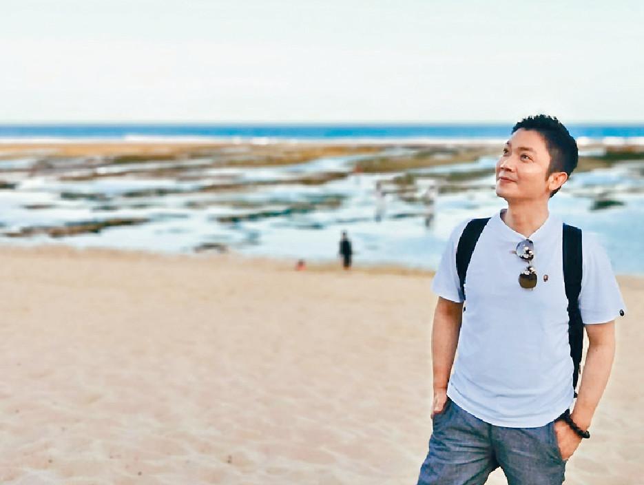 ■李丞責博士首次到峇里,感覺好放鬆。