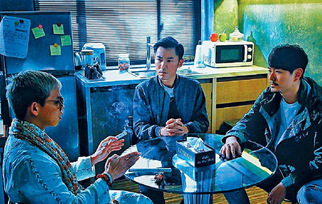 ■子善(左)早排在劇集《十二傳說》中,扮演Dali大師。