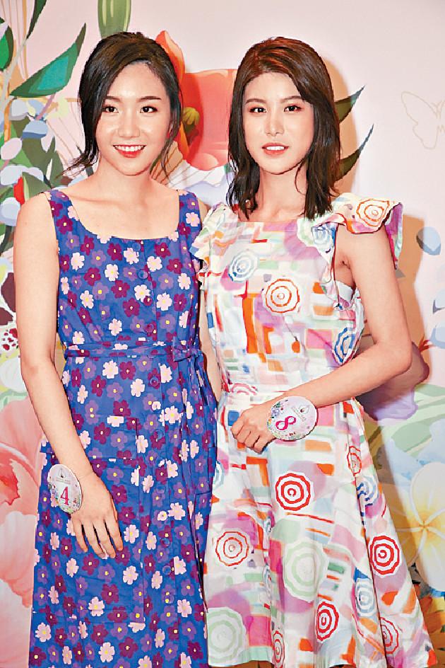 ■8號古佩玲(右)澄清父母是土生土長香港人。