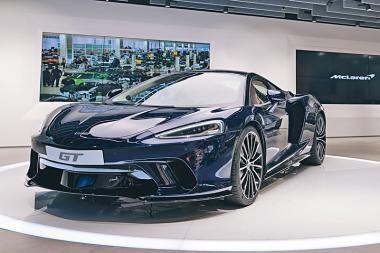專店首展中  McLaren GT舒適新跑王