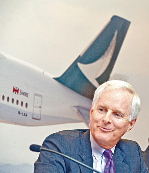 現年63歲的國泰航空主席及執行董事史樂山,以退休為由提出請辭。