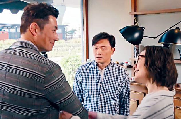 ■曹永廉、田蕊妮及人生導師袁文傑在劇中有三角感情關係。
