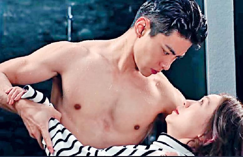 ■阿田在劇中,曾幻想被肌肉男羅天宇擁抱。
