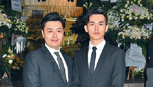 ■阮浩鋒和阮浩棕接受傳媒訪問。