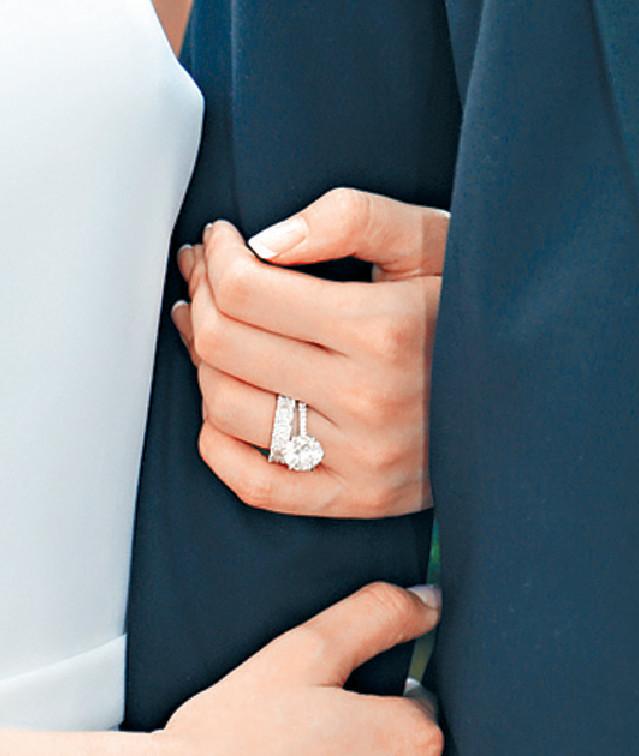 ■Janice的婚戒好閃。