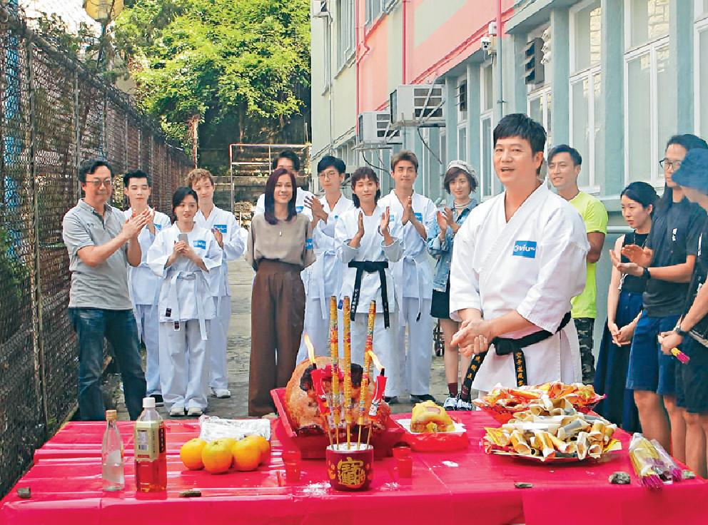 ■歐錦棠為ViuTv新劇演出之外,亦擔任監製及動作指導。