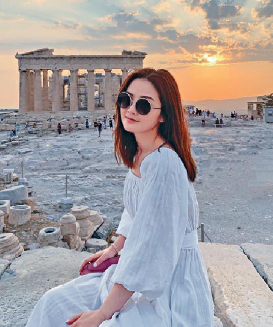 ■粉絲形容阿Sa有希臘女神feel。