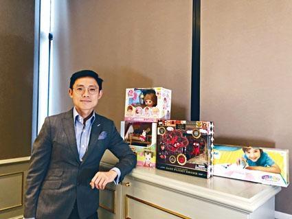凱知樂國際助理行政總裁及首席財務官洪誠明。