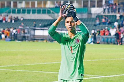 葉鴻輝破紀錄第七十四次代表港足上陣。