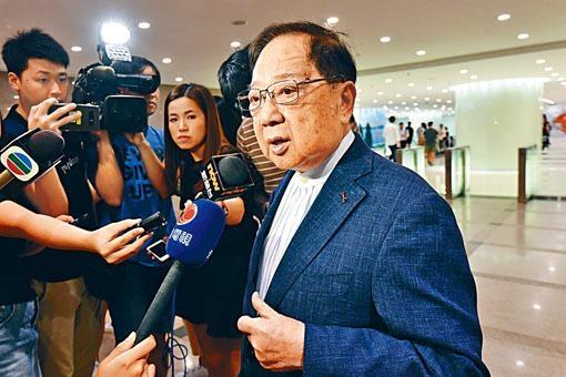 梁志堅認為實施《土地收回條例》的建議並無太大問題。