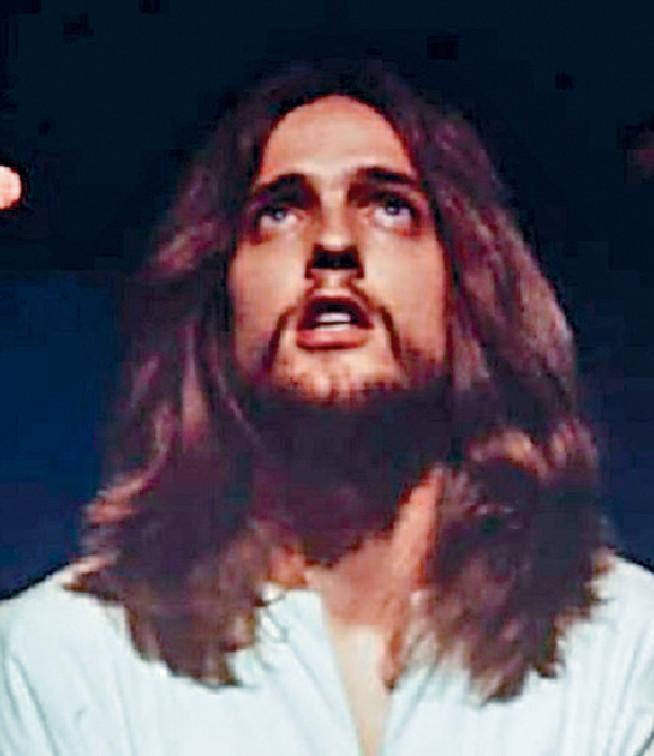 ■Jeff Fenholt在《萬世巨星》中飾演耶穌。網上圖片