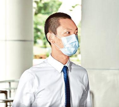■被告冼嘉豪,被控一項暴動罪及兩項抗拒警務人員罪,昨日提堂。