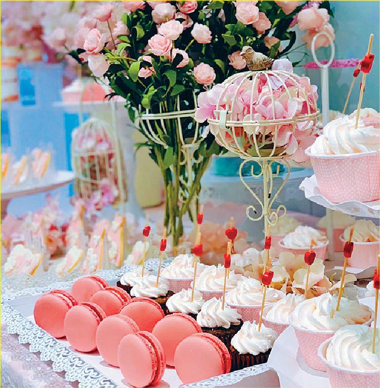 ■范冰冰感謝粉絲為她準備的蛋糕。網上圖片