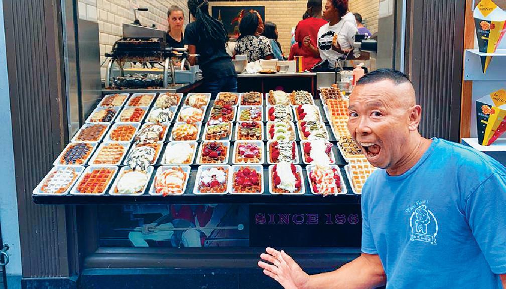 ■他路過Brussels一間朱古力店,有很多甜品選擇。