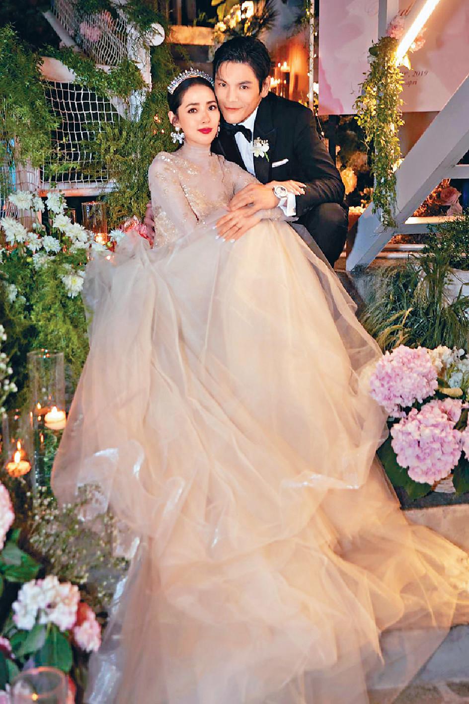 意國婚禮 ■向佐和台灣女星女友郭碧婷早前在意大利舉行婚禮。