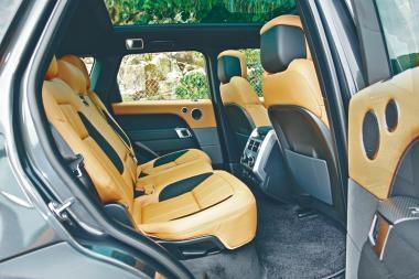 直六Turbo引擎  Range Rover P400七座新跑驅