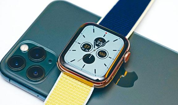 ●Apple Watch S5外形沿用上代設計。