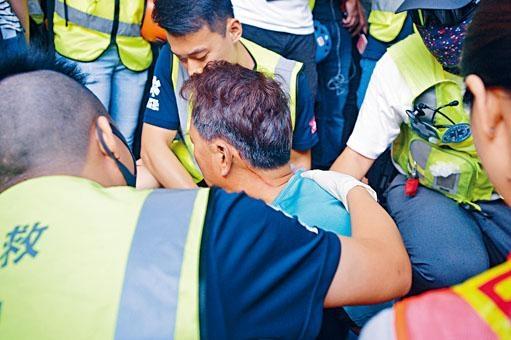 ■淘大商場本月十四日有身穿藍色上衣的男子被打傷。