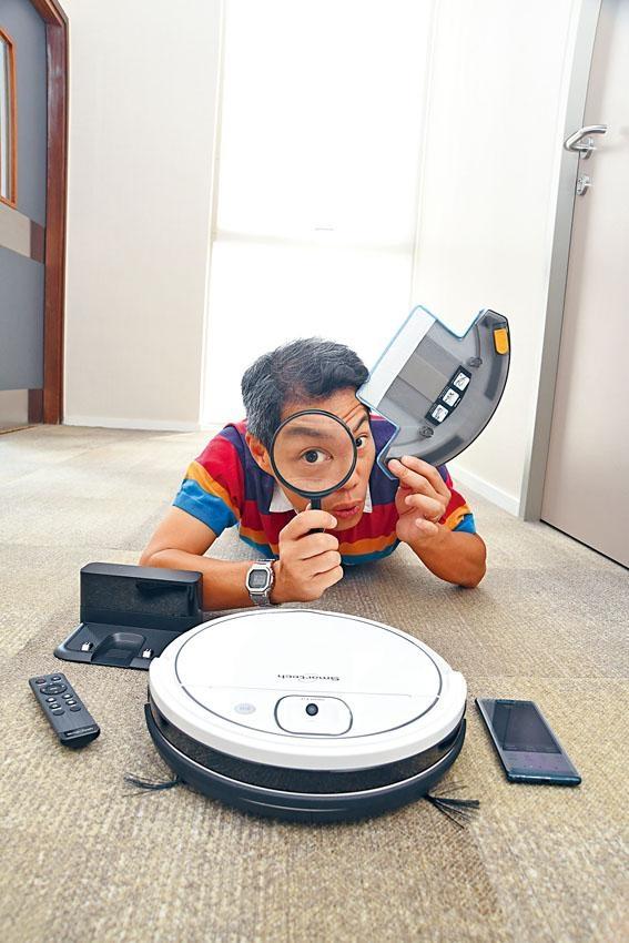 智能導航除塵機械人備有專用掃描器,可準確繪製家居清潔地圖,盡量不重複清潔範圍。