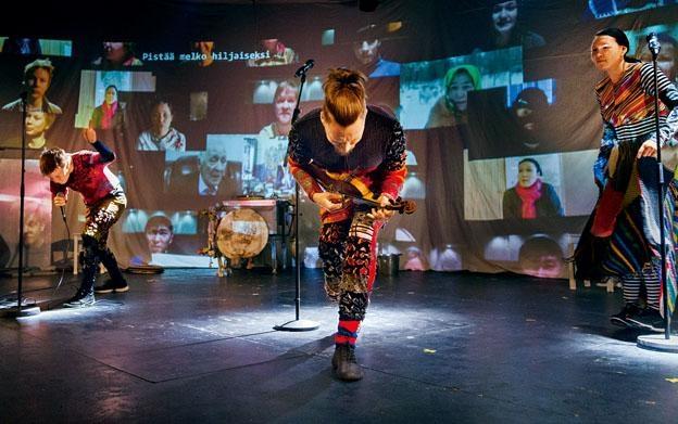芬蘭魯斯卡劇團的《極地漂流記》。(@Lars Rosing/Ruska Ensemble)