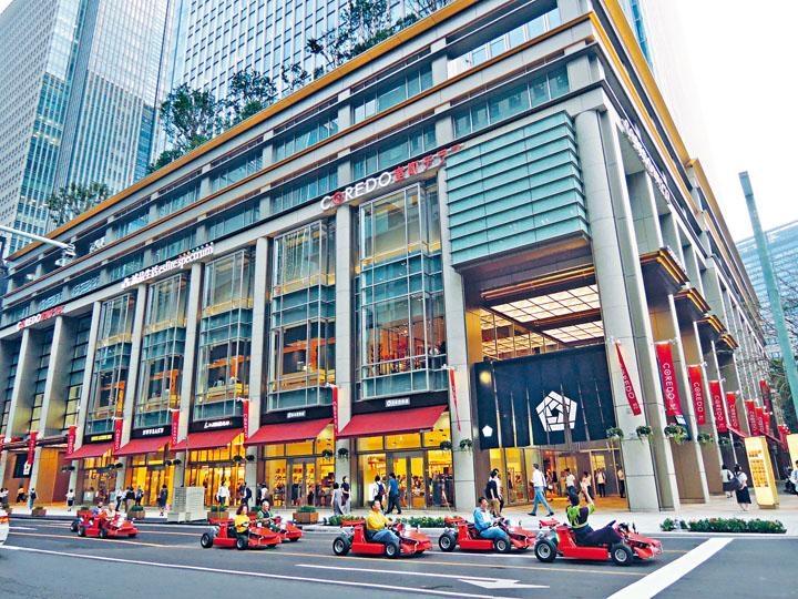 ●商場位於大樓地庫至二樓。