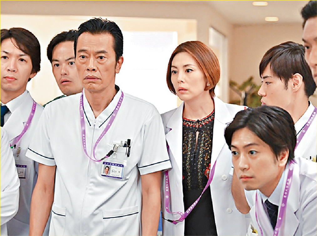 ■在新一季《Dr.X》中,米倉與一班老拍檔再合作。