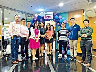 ULaw香港分校的法律深造文憑課程上月初開學,迎來首批學生。
